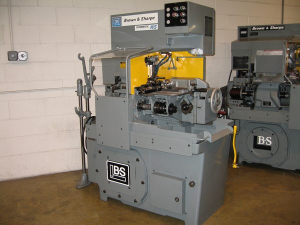 BROWN & SHARPE RS RAM SLIDE ULTRAMATIC SCREW MACHINE