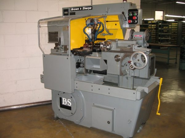 BROWN & SHARPE RAM SLIDE RS ULTRAMATIC SCREW MACHINE