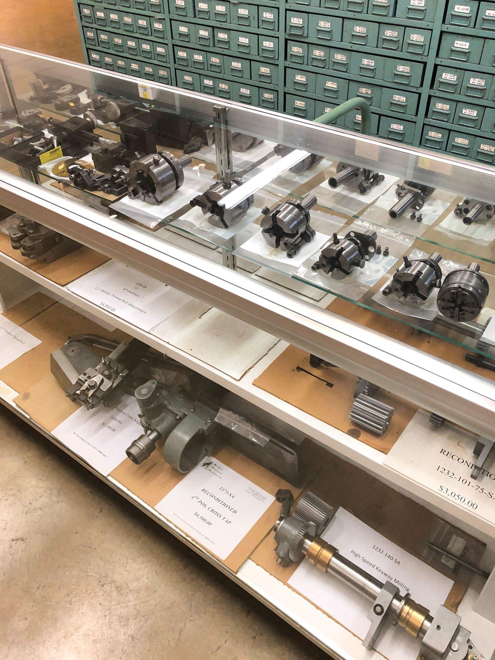 A.P.E., Inc. Screw Machine Parts